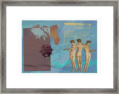 Roman Holiday Vi Framed Print