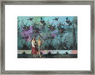 Roman Holiday X Framed Print