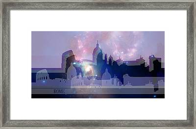 Rome 3 Framed Print