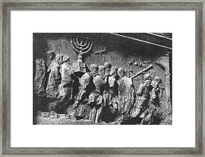 Rome: Arch Of Titus Framed Print by Granger