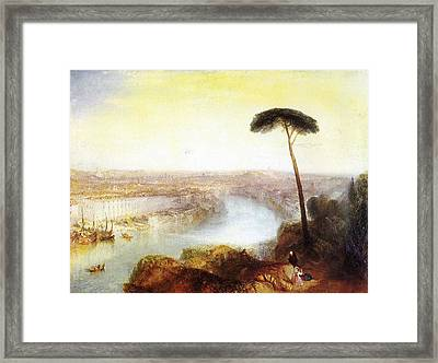 Rome From Mount Aventine Framed Print