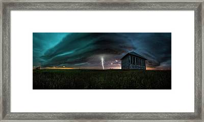 Framed Print featuring the photograph Rose Hill  by Aaron J Groen