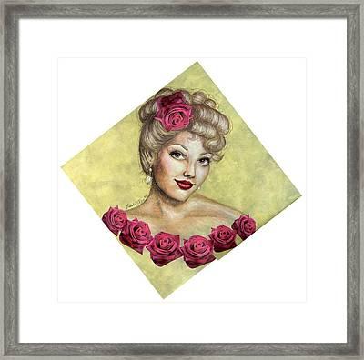 Rose Framed Print by Scarlett Royal
