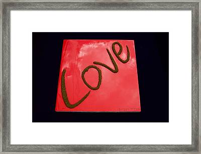 Roseate Love Framed Print by Nicole Campos