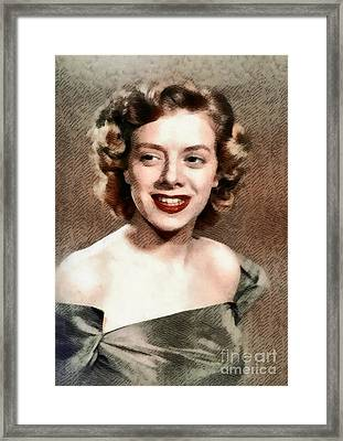 Rosemary Clooney, Music Legend Framed Print by John Springfield