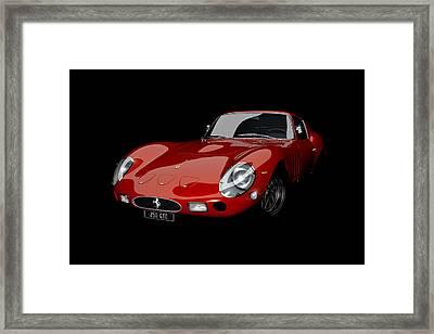 Rosso 1963 Framed Print