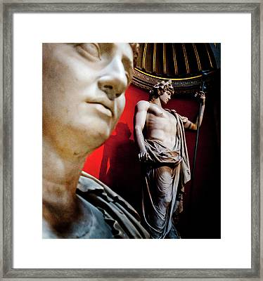 Rotunda Colossals 1 Of 3 Framed Print by Andy Smy