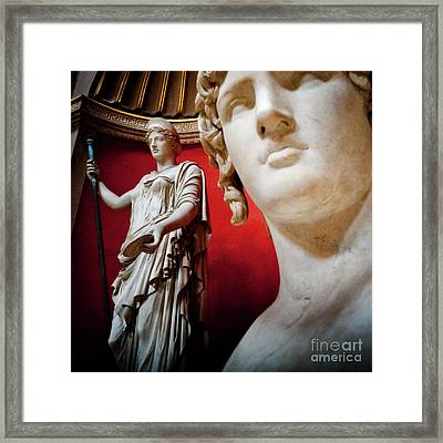 Rotunda Colossals 3 Of 3 Framed Print
