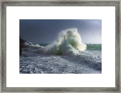 Rough Sea 5 Framed Print