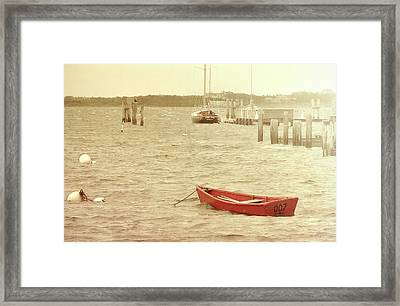 Rough Seas Framed Print by JAMART Photography