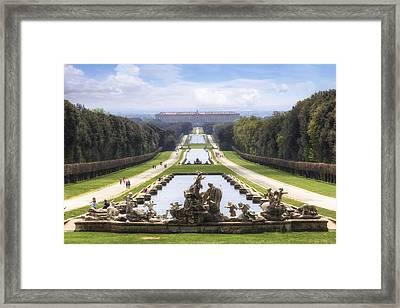 Royal Palace Of Caserta Framed Print