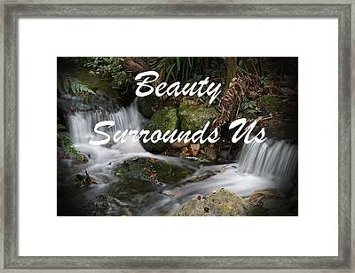 Rumi Quote-7 Framed Print by Rudy Umans