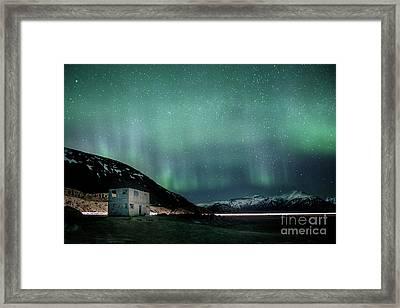 Run Through The Night Framed Print