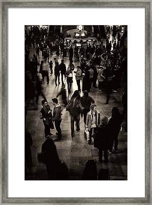 Rush Hour Framed Print by Jessica Jenney