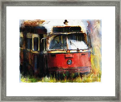 Rust In Peace Framed Print by Bob Salo