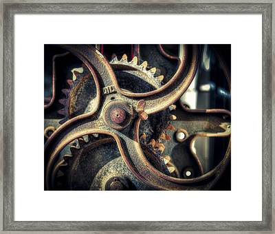 Rust Never Sleeps Framed Print