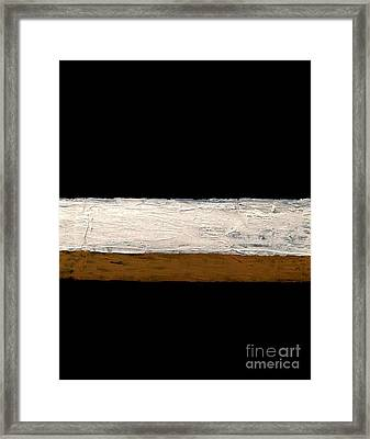 Rustic Abstract Framed Print by Marsha Heiken