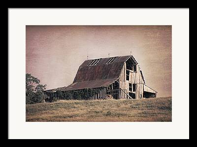 Rustic Barns Framed Prints