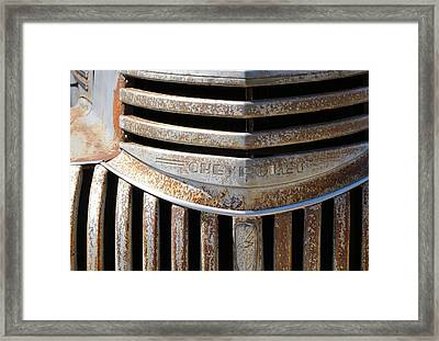 Bow Tie Framed Print by David and Lynn Keller