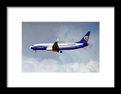 Ryanair Framed Prints