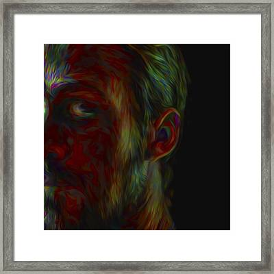 #ryangosling #gosling #male #actress Framed Print