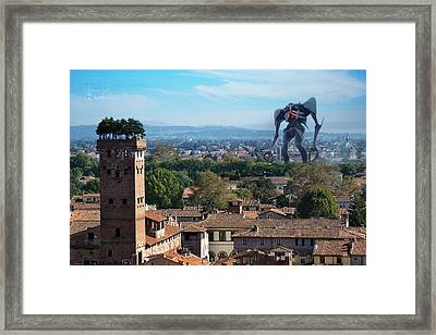 Sachiel Framed Print by Andrea Gatti