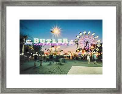 Sacramento State Fair- Framed Print