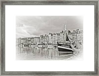 Safe Harbor Framed Print by Catherine Alfidi