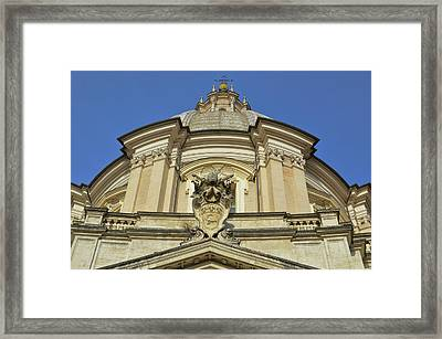 Saint Agnes Dome Framed Print by JAMART Photography