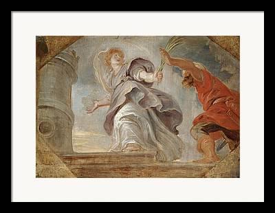Saint Barbara Framed Prints
