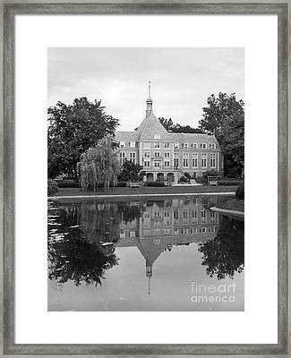 Saint Mary's College Haggar College Center Framed Print by University Icons