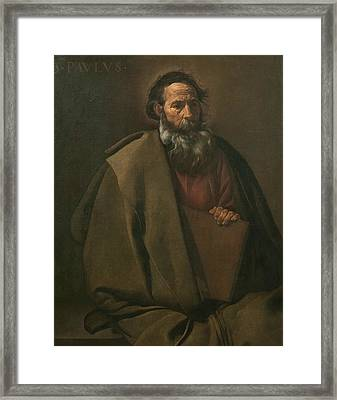 Saint Paul Framed Print
