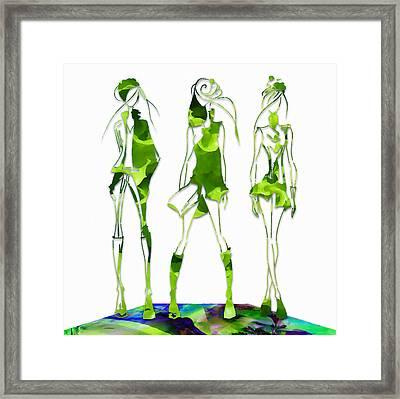 Salad Dressing Framed Print
