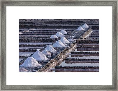Salinas Del Carmen - Fuerteventura Framed Print