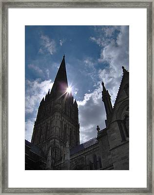 Salisbury Sunburst Framed Print