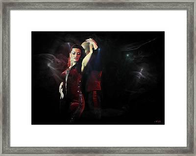 Salsa,salsadancer,salsadance, Framed Print