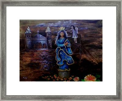 Salubong Framed Print by Jo Mari Montesa