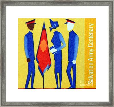 Salvation Army. Framed Print by Stan Pritchard
