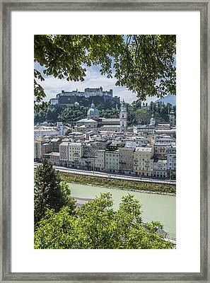 Salzburg Gorgeous Old Town Framed Print