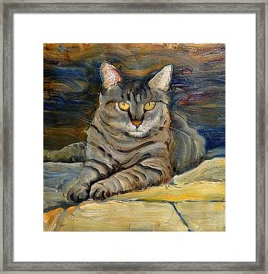 Framed Print featuring the painting Sampson by John Reynolds