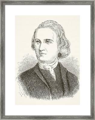 Samuel Adams 1722 - 1803. American Framed Print by Vintage Design Pics