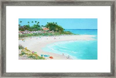 San Clemente Beach California Framed Print