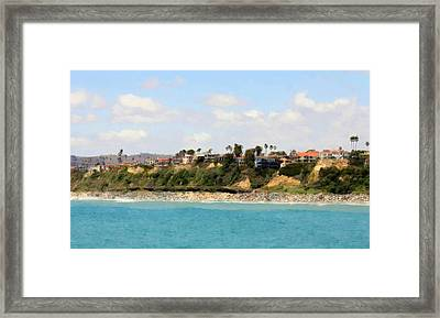 San Clemente Painted 8 Framed Print