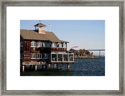San Diego Bay Framed Print by Christopher Woods