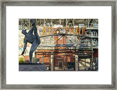 San Francisco Giants Att Park Juan Marachal O'doul Gate Entrance Dsc5790 Framed Print