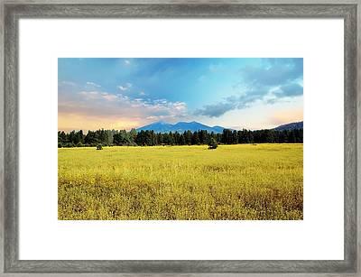 San Francisco Peaks  Framed Print