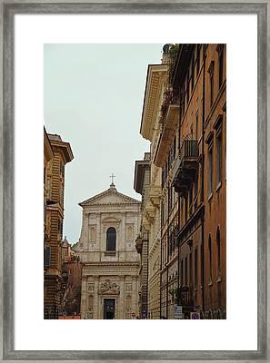 San Giovanni Dei Fiorentini Framed Print by JAMART Photography