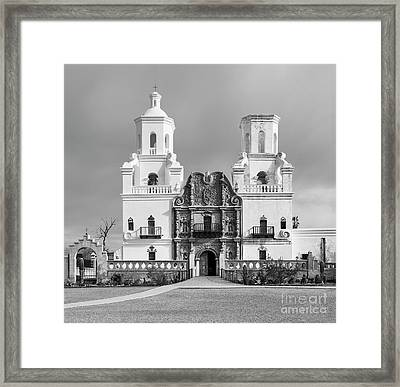San Xavier Del Bac Mission Framed Print