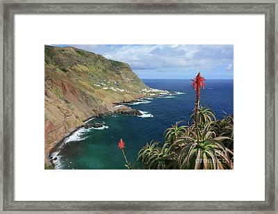 Santa Maria Island Framed Print