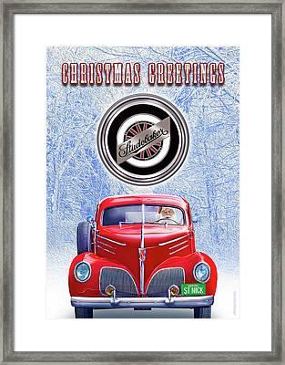 Santas Coupe Express Framed Print